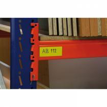Magnetické pruhy 30x600 mm, žluté 10 ks