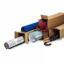 Krabice - tubus, otevírání na kratší straně krabice 800x200x200 mm