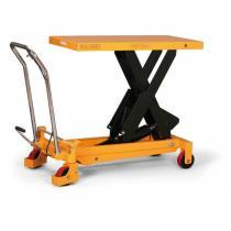 Hydraulický zvedací stůl, nosnost 250 kg, zdvih 910 mm