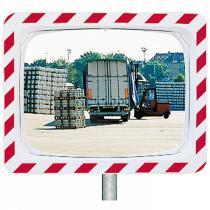 Nerozbitné dopravní zrcadlo 600x400 mm