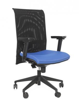 Kancelářské židle Antares Kancelářská židle 1580 SYN GALA NET (GREY)