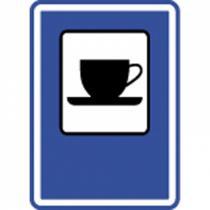 Dopravní značka - Občerstvení (IJ11b)