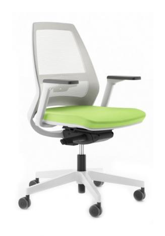 Kancelářské židle Antares Kancelářská židle 1890 SYN Infinity NET WHITE