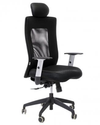 Kancelářské židle Alba Kancelářská židle LEXA  s podhlavníkem