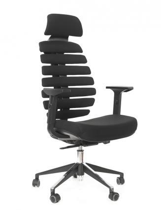 Kancelářská židle Node Kancelářská židle FISH BONES PDH černá 26-60