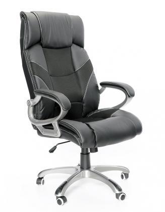 Kancelářské židle Node Kancelářské křeslo Maximus černý plastový kříž