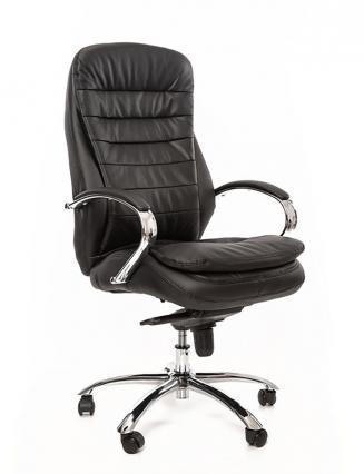 Kancelářské křeslo Sedia Kancelářské křeslo Q154 černá koženka