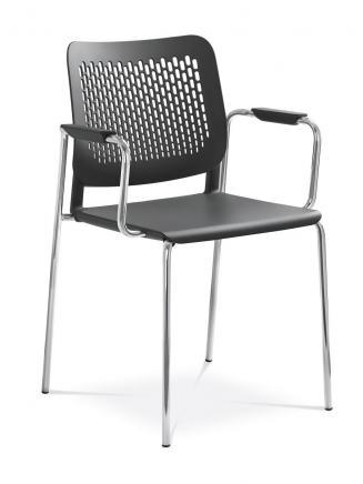 Konferenční židle - přísedící LD Seating Konferenční židle Time 170/B-N4