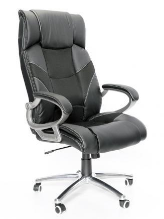 Kancelářské křeslo Node Kancelářská židle Maximus černá kovový kříž