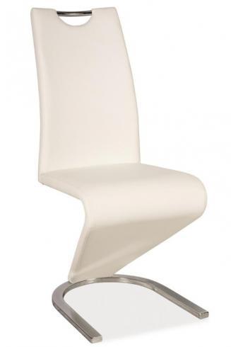 Sedia kovové Kuchyňská židle H090 bílá
