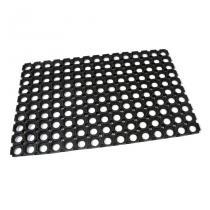 Gumová vstupní čistící rohož Honeycomb - 60 x 40 x 1,6 cm