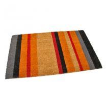 Kokosová vstupní rohož Stripes - 75 x 45 x 1,7 cm