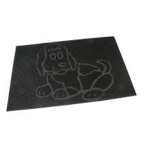 Gumová vstupní kartáčová rohož Dog - 60 x 40 x 0,8 cm