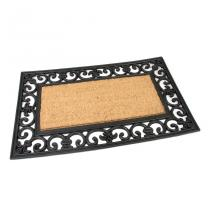 Gumová kokosová vstupní rohož Rectangle - Deco - 75 x 45 x 1,7 cm