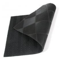 Gumová oboustranná vstupní rohož Double-sided - 75 x 45 x 1 cm
