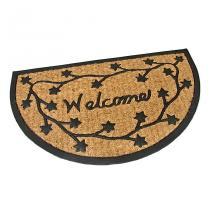 Gumová kokosová vstupní rohož Welcome - Deco - 75 x 45 x 0,8 cm