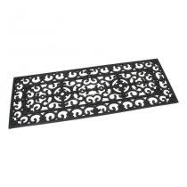 Gumová vstupní rohož Deco - 120 x 45 x 1 cm