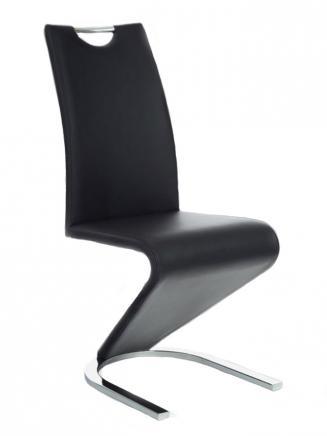 Sedia kovové Kuchyňská židle H090 černá