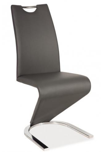 Sedia kovové Kuchyňská židle H090 šedá
