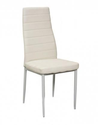 Sedia kovové Kuchyňská židle H261 bílá