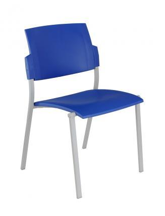 Konferenční židle - přísedící Alba Konferenční židle Square plastová