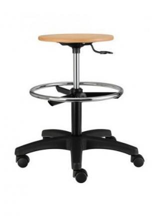 Pracovní židle - dílny Alba Pracovní židle Nora dřevěná