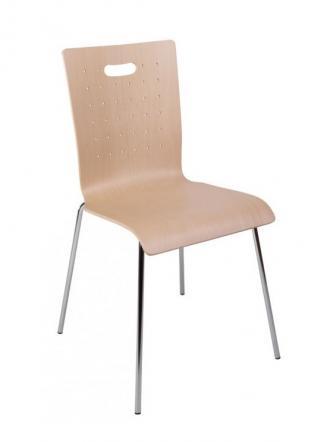 Konferenční židle - přísedící Alba Konferenční židle Tulip bez čalounění