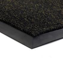 Černá textilní zátěžová čistící rohož Catrine - 70 x 100 x 1,35 cm