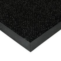Černá textilní čistící vnitřní vstupní rohož Cleopatra Extra - 60 x 80 x 1 cm