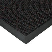 Černá textilní zátěžová vstupní čistící rohož Fiona - 60 x 90 x 1,1 cm