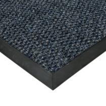 Modrá textilní zátěžová vstupní čistící rohož Fiona - 80 x 120 x 1,1 cm