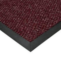 Červená textilní zátěžová vstupní čistící rohož Fiona - 80 x 120 x 1,1 cm