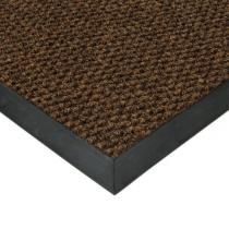 Hnědá textilní zátěžová vstupní čistící rohož Fiona - 80 x 120 x 1,1 cm