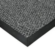 Šedá textilní zátěžová vstupní čistící rohož Fiona - 50 x 90 x 1,1 cm