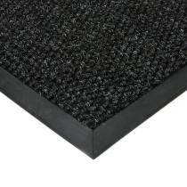 Černá textilní zátěžová vstupní čistící rohož Fiona - 60 x 80 x 1,1 cm