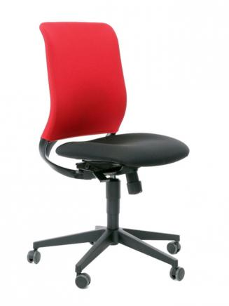 Kancelářské židle LD Seating Kancelářská židle Theo@ 260-SY černo červená