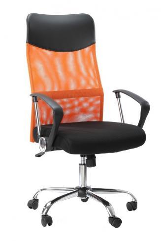 Kancelářské křeslo Sedia Kancelářské křeslo Prezident oranžový
