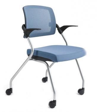 Konferenční židle - přísedící BESTUHL Konferenční židle U20 černý plast