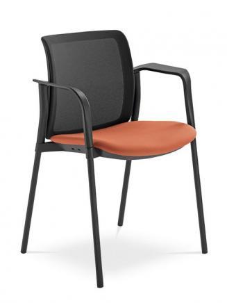 Konferenční židle - přísedící LD Seating Konferenční židle Swing 512-BL, K