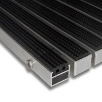 Gumová hliníková čistící vstupní venkovní rohož Alu Standard - 60 x 90 x 2,7 cm