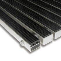 Gumová hliníková čistící vstupní venkovní rohož Alu Standard - 60 x 90 x 2,2 cm