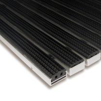 Gumová hliníková čistící venkovní vstupní rohož Alu Standard - 60 x 90 x 1,7 cm