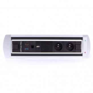 Elektricky otočné Zásuvkový panel BTCZ 015
