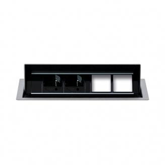 Zásuvkové panely výklopné Zásuvkový panel KPV 4 konfigurovatelný
