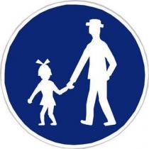 Dopravní značka Stezka pro chodce (C7a)