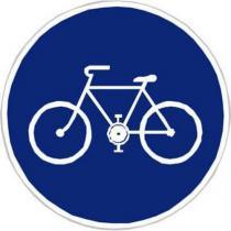 Dopravní značka Stezka pro cyklisty (C8a)