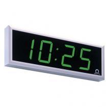 Digitální hodiny, oboustranné, stropní závěs 30 cm