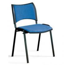 Konferenční židle Smart Black, modrá