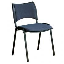 Konferenční židle Smart Black, šedá