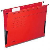 Závěsná papírová deska, červená